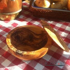 olive wood pot