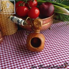 Nut cracker olive wood