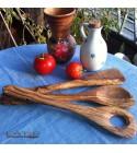 Spatula set olive wood