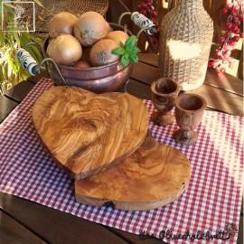 Frühstücksbrettchen Set aus Schale + Brotzeitbrett