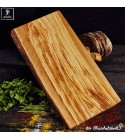 Large chopping board out of olive wood