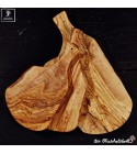 Cutting board natural shaped with handle
