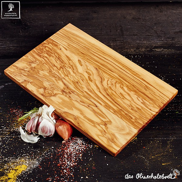 Breakfast Or Cutting Board Olive Wood Thin Version