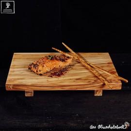 Sushi board olive wood