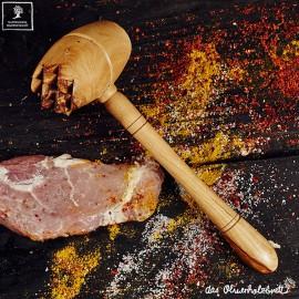 meat tenderiser, olive wood