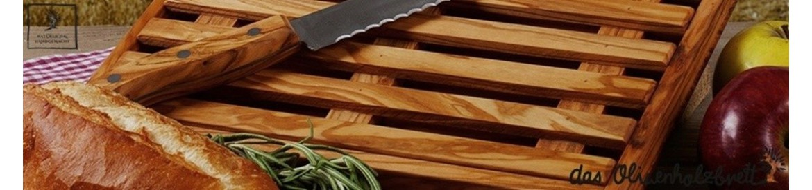 Bread cutting boards